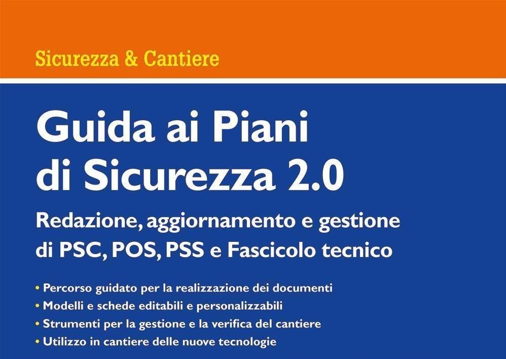 Sicurezza Lavoro Ingegneria Luca Lenzi Bologna Libro Guida ai piani di sicurezza